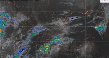 Para las próximas horas se pronostican lluvias fuertes en doce entidades de México