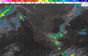 Se prevén lluvias intensas y granizadas en el centro y el sur de Veracruz, el norte y el centro de Oaxaca, Chiapas y Puebla