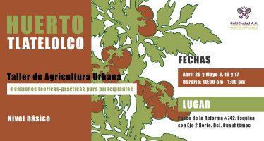 Taller teórico-práctico de agricultura urbana