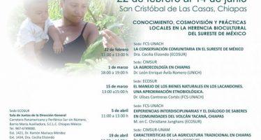 Ciclo permanente de conferencias de Etnobiología 2018