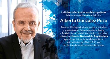 Alberto González Pozo obtiene el premio nacional de arquitectura