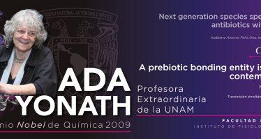 Conferencia y cátedra magistral impartida por Ada Yonath, premio Nobel de Química 2009