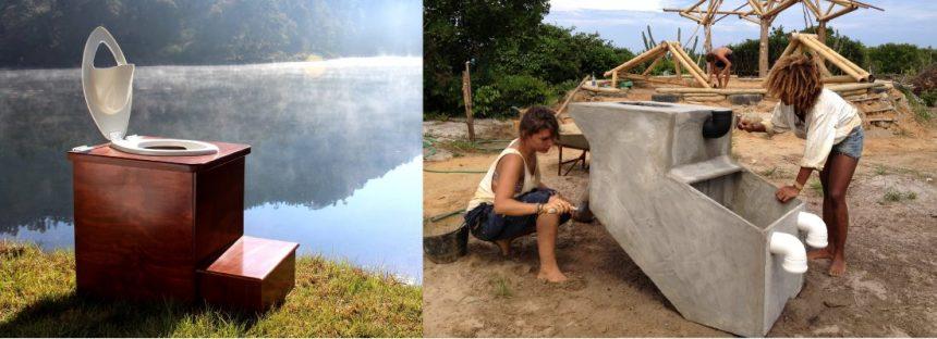 Curso para el cuidado del agua. Sanitario ecológico.
