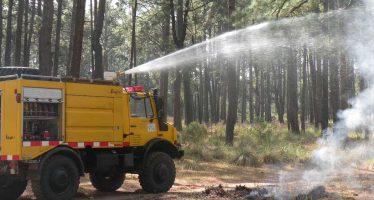 La superficie afectada por incendios forestales disminuye 46 % en primer trimestre de 2018