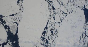 Un enorme glaciar antártico amenaza con elevar 3 metros el nivel del mar