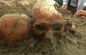 Osamentas de antiguos sudcalifornianos del año 1,100 dC son descubiertas incidentalmente en playas de La Paz, Baja California Sur
