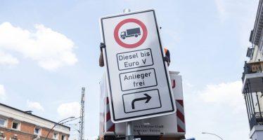 Hamburgo, la primera ciudad alemana que prohíbe circular a coches diésel