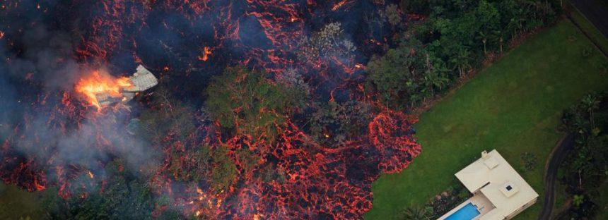La actividad del volcán Kilauea no cesa