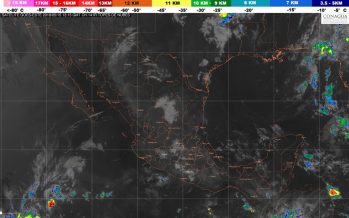 Durante la tarde de hoy se prevén temperaturas máximas de 40 a 45 grados Celsius en 13 entidades de México