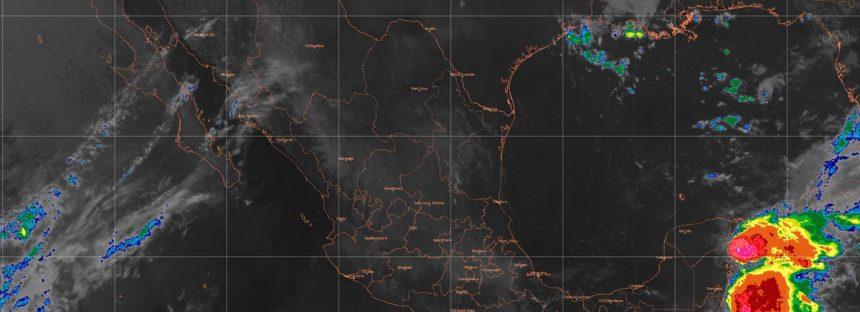 Onda de calor ubicada en México originará temperaturas superiores a 35 grados Celsius en 24 entidades