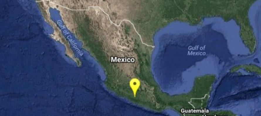 Sismo de maginitud 5,3 sacude suroeste de México