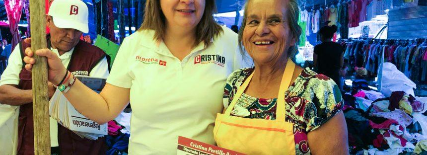 Cristina Portillo: Urge vincular directamente a productores, comerciantes y consumidores locales para fortalecer el mercado interno