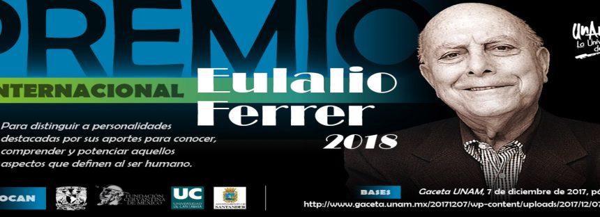 Premio Internacional Eulalio Ferrer 2018