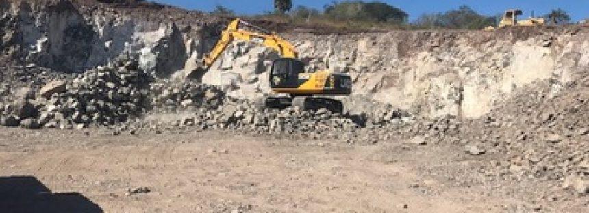 Inspeccionan y clausuran bancos de piedra en Actopan, Veracruz donde hubo cambio de uso de suelo