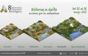8ª Semana de la Biodiversidad Biológica. Historias de éxito: acciones por la naturaleza