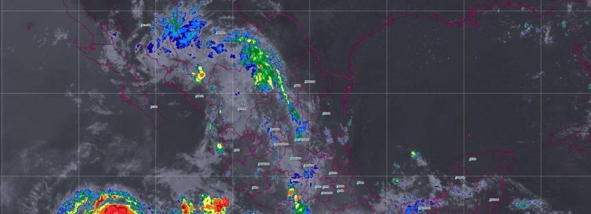 Durante las próximas horas se prevén tormentas intensas en Chiapas