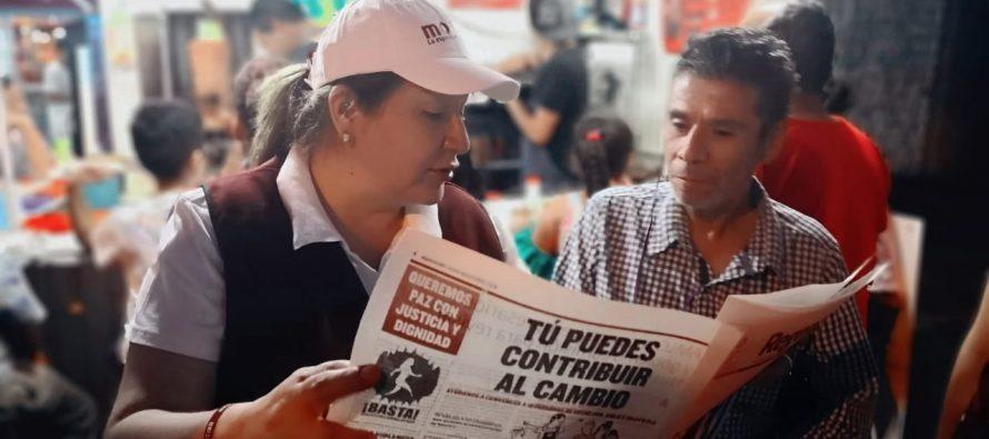 Cristina Portillo: La inseguridad es brutal en Morelia y los ciudadanos viven atemorizados y enrejados en casa