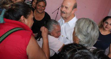 Recolectores de la Melchor Ocampo dan su apoyo a Fausto