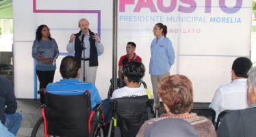 Fausto Vallejo Figueroa, único alcalde que ha trabajado por las personas con discapacidad