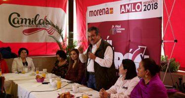 Propone Raúl Morón a mujer como titular de la política económica de Morelia