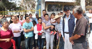 Presenta Fausto Vallejo Figueroa decálogo de Desarrollo Humano y Bienestar Social