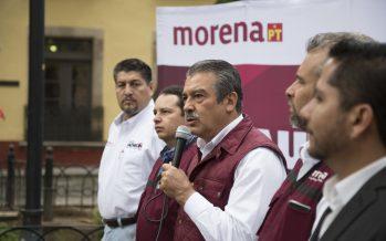 Los morelianos saldrán a votar por AMLO y Morena, votarán por el anhelo de cambio: Raúl Morón