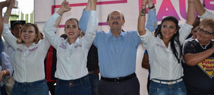 Cierra Fausto Vallejo Figueroa campaña proselitista; abandono social, la constante