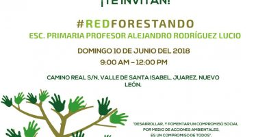 Red ambiental invita a #REDFORESTANDO