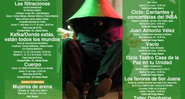 Casa del tiempo UNAM invita al ciclo de talleres de artes escénicas