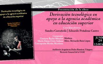 Presentación de obra: Derivación tecnológica en apoyo a la agencia académica en educación superior