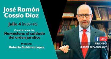 Conferencia: Nomósfera: el cuidado del orden jurídico
