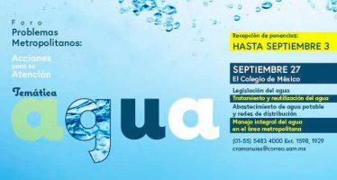 Foro: Problemas metropolitanos: Agua
