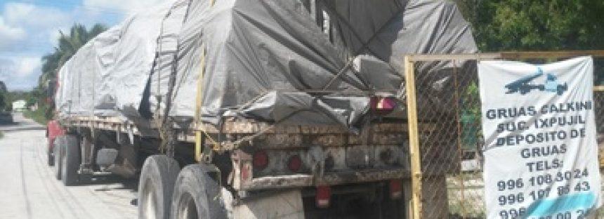 PROFEPA y Gendarmería Ambiental aseguran 22.991 metros cúbicos de madera en Campeche