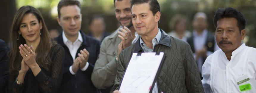 Nueva Ley General de Desarrollo Forestal Sustentable promulgada por el presidente Enrique Peña Nieto
