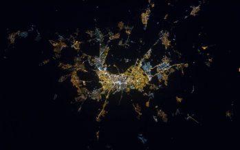 Un mapamundi nocturno 'online' para combatir la contaminación lumínica