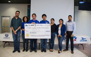 CBTIS 21 de Mexicali, gana concurso de óptica organizado por el CICESE y la SCJ