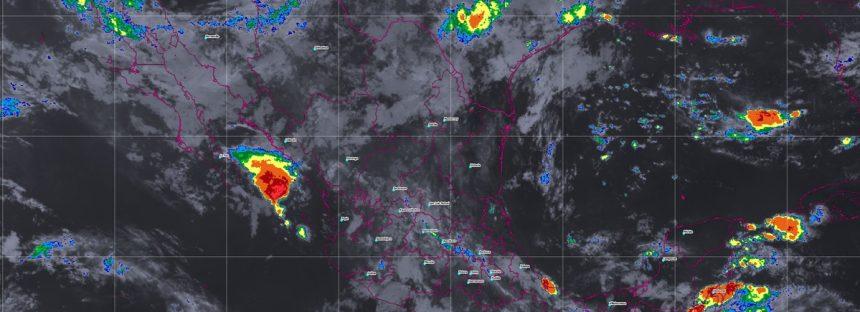 Se prevén tormentas muy fuertes en Veracruz, Oaxaca y Chiapas