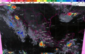 Prevén tormentas fuertes en Sonora, Jalisco, Michoacán, Guerrero, Baja California, Oaxaca, Chiapas, Guanajuato, Veracruz y Campeche