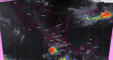 Se pronostican tormentas muy fuertes para regiones de Veracruz, Oaxaca y Chiapas