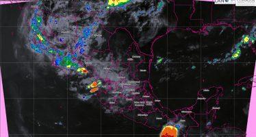 Se prevén tormentas muy fuertes en Sinaloa, Durango y Nayarit