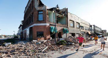 Los tornados provocan graves daños el estado de Iowa