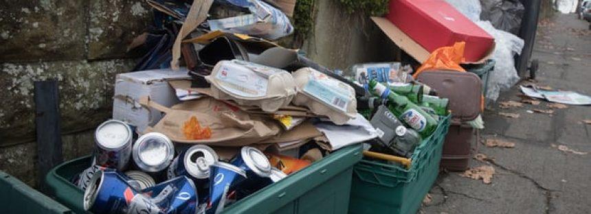 La incineración de residuos se prepara para superar el reciclaje en Inglaterra, advierten los Verdes