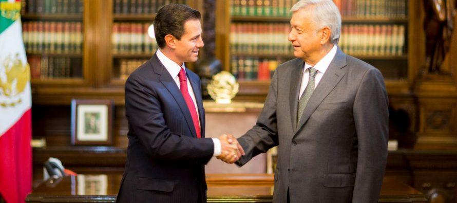 Presidente Enrique Peña Nieto reconoce el triunfo de Andrés Manuel López
