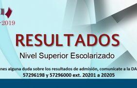 IPN: Resultados proceso de admisión nivel superior escolarizado