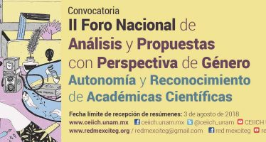 II foro nacional de análisis y propuestas con perspectiva de genero