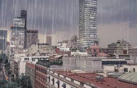 Las lluvias son bienvenidas