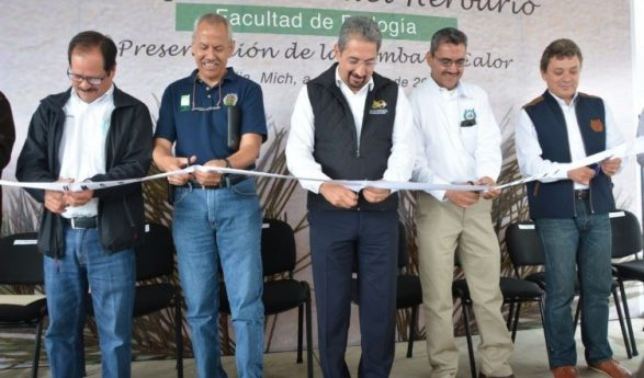 Se inaugura Herbario de la Facultad de Biología de la UMSNH