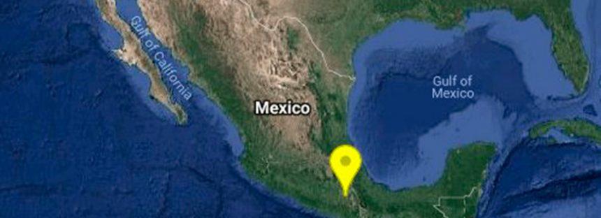 Se registra sismo 5.9 en Oaxaca