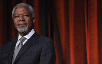 Muere a los 80 años Kofi Annan, ex secretario general de la ONU y Nobel de la Paz