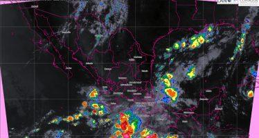 Hoy se prevén tormentas intensas en Guerrero, Oaxaca, Chiapas y Veracruz